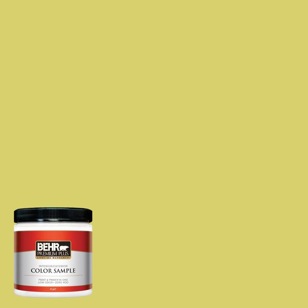 8 oz. #P340-4 Lime Tree Interior/Exterior Paint Sample