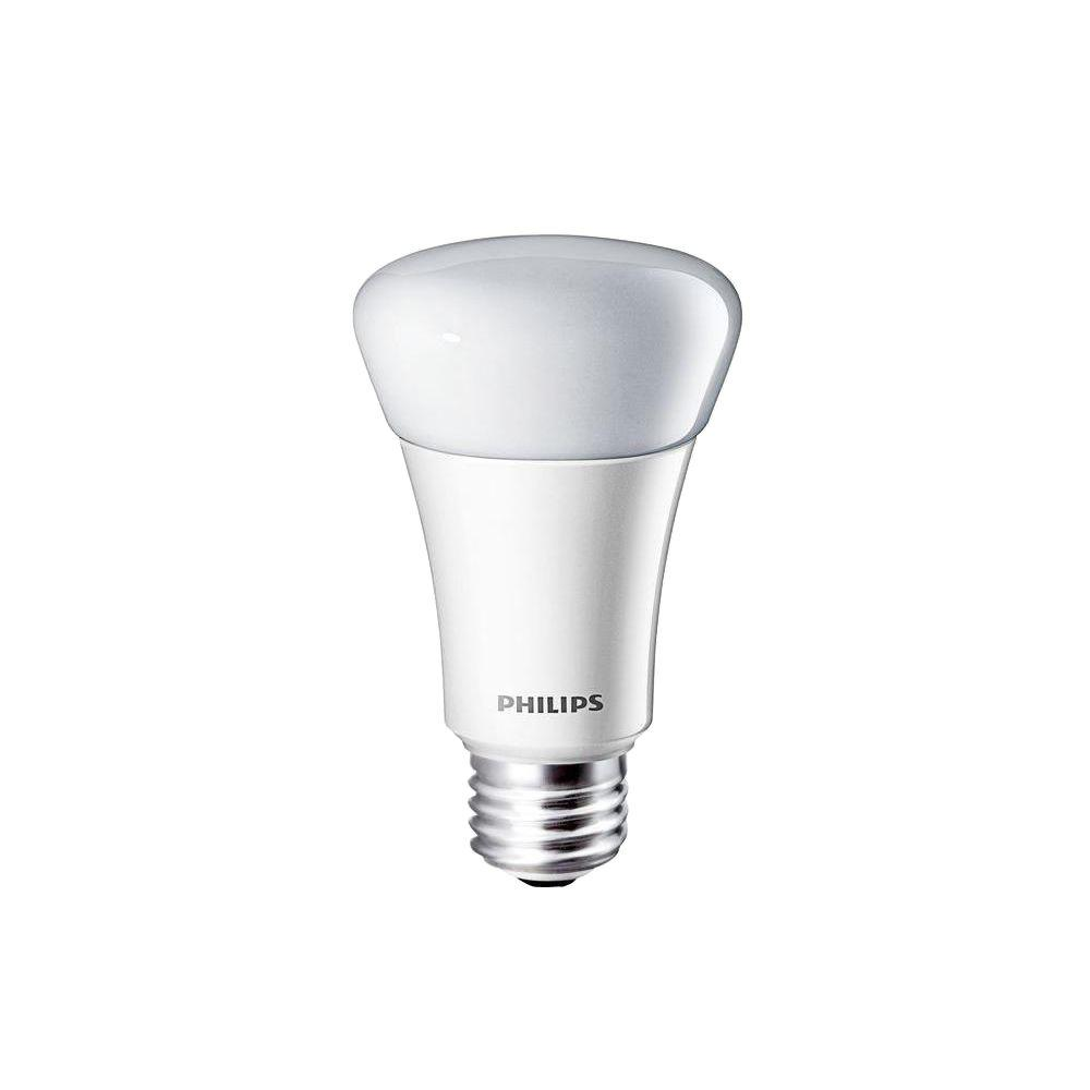 Philips 60W Equivalent Soft White (2700K) A19 Dimmable LED Light Bulb (2-Pack)