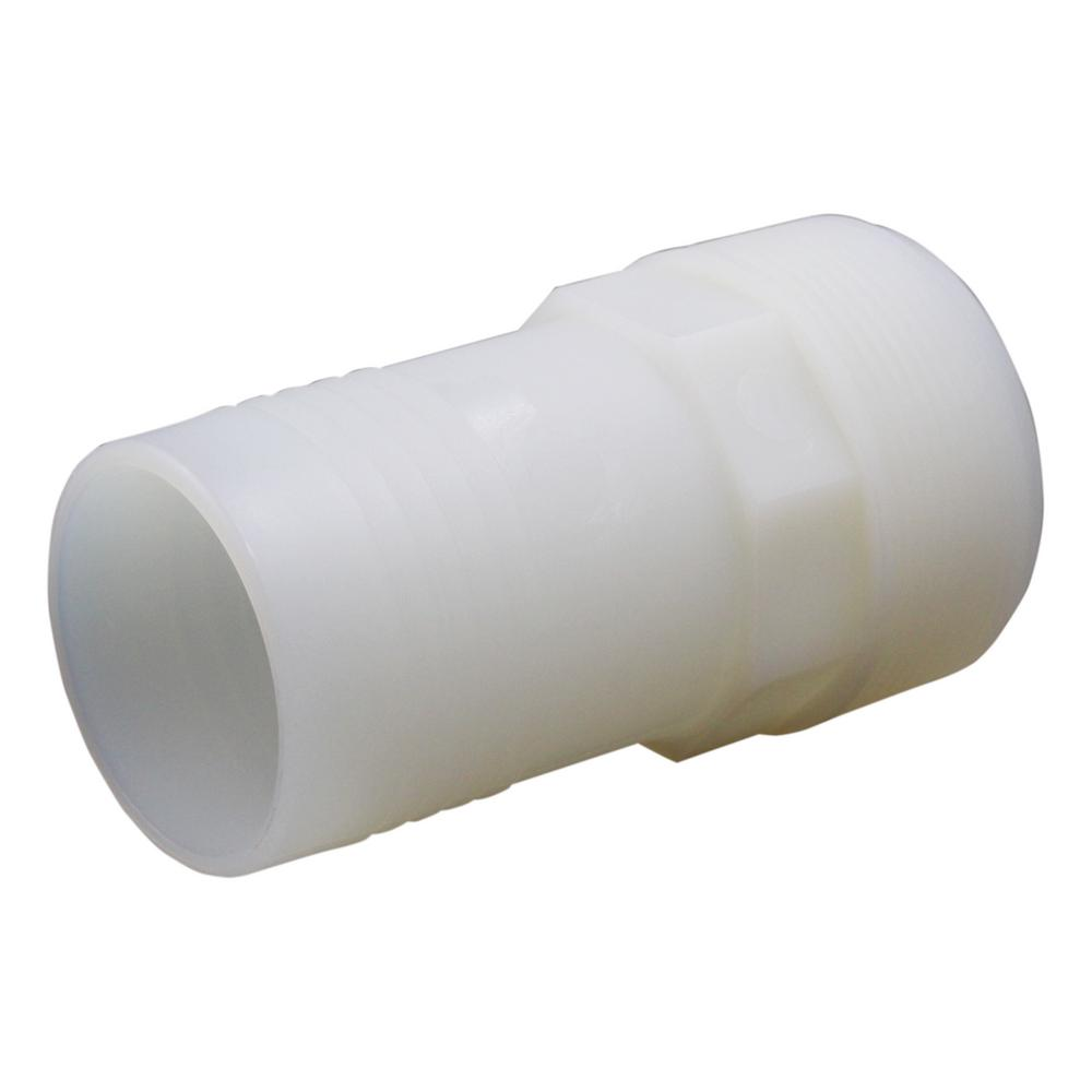 2 in. I.D. Plastic Hose Barb Adapter
