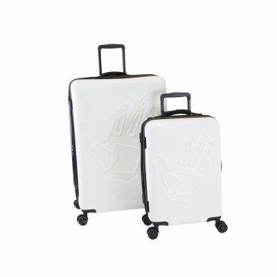 Redondo 2-Piece White Hardside Luggage Set