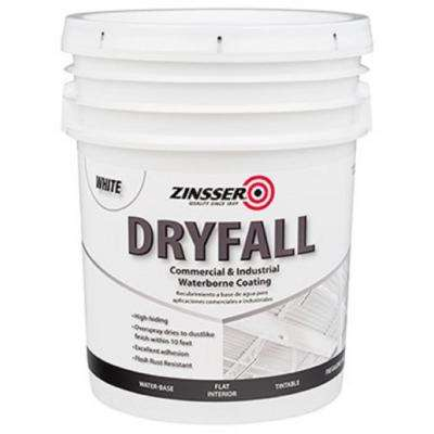 5 gal. Waterbourne Dry Fall White Coating