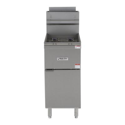 35 Qt. Stainless Steel Commercial Propane Gas Fryer