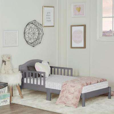 Sydney Steel Grey Toddler Adjustable Toddler Bed