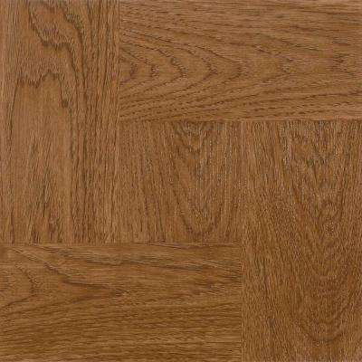 Gunstock 12 in. x 12 in. Residential Peel and Stick Vinyl Tile Flooring (45 sq. ft. / case)