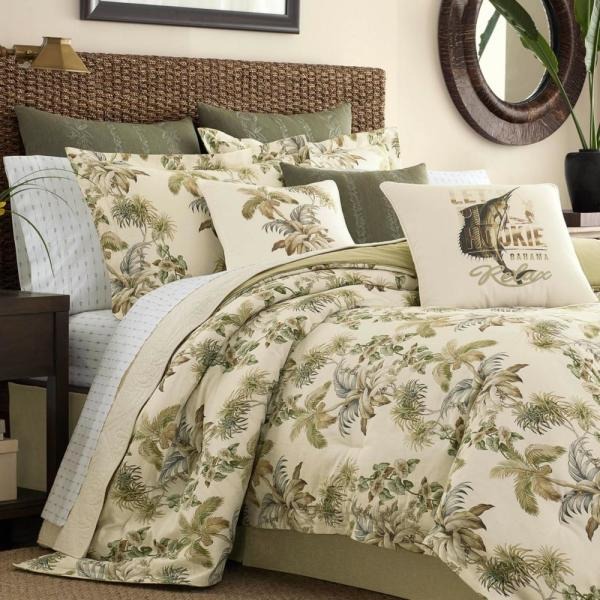 Beige Brown Embroidered 4 pc Quilt Set Coverlet Queen King Bed Solid Bedspread