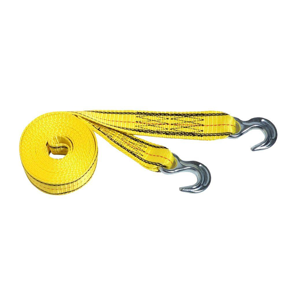 null 15 ft. Polyester Tow Strap
