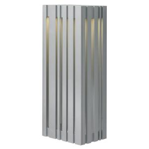LBL Lighting Uptown 1-Light Silver Outdoor Large LED Wall Light by LBL Lighting