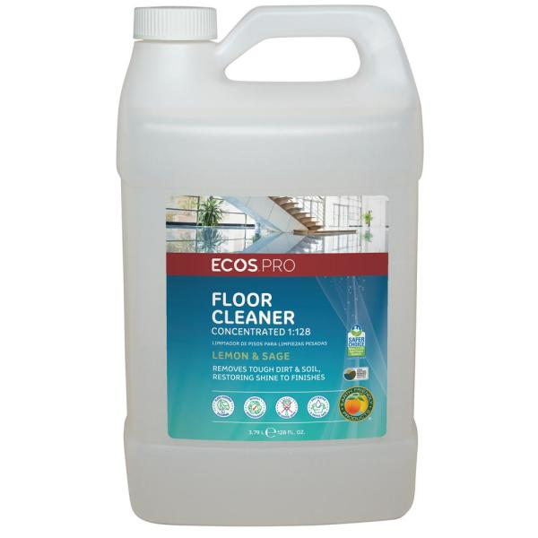 128 oz. Neutral Floor Cleaner Lemon-Sage 1:128 Concentrate