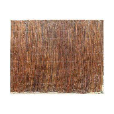 8 ft. L x 2 ft. H Willow Twig Rolled Fence