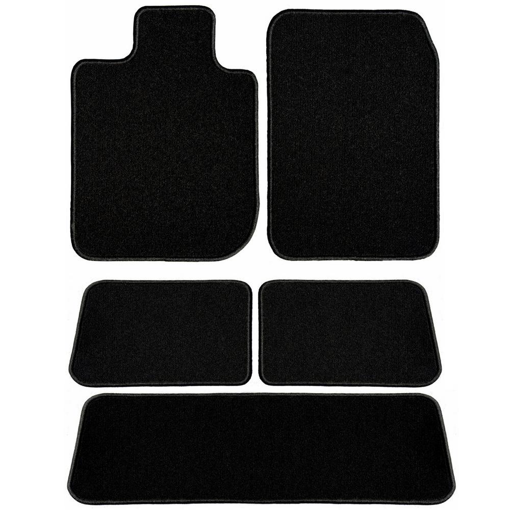 254f1791d10 GGBAILEY Ford Explorer Black Classic Carpet Car Mats Floor Mats ...