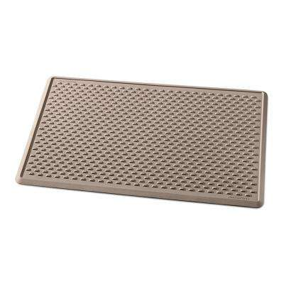 Tan 48 in. x 30 in. Indoor Mat