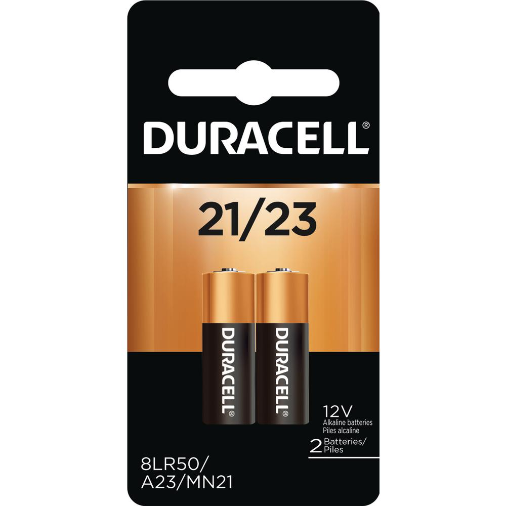 Alle nye Duracell Coppertop Speciality Alkaline 21/23 Battery (2-Pack EJ47