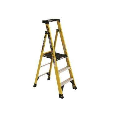 5 ft. Fiberglass Podium Ladder with 9 ft. Reach and 375 lbs. Load Capacity Type IAA Duty Rating