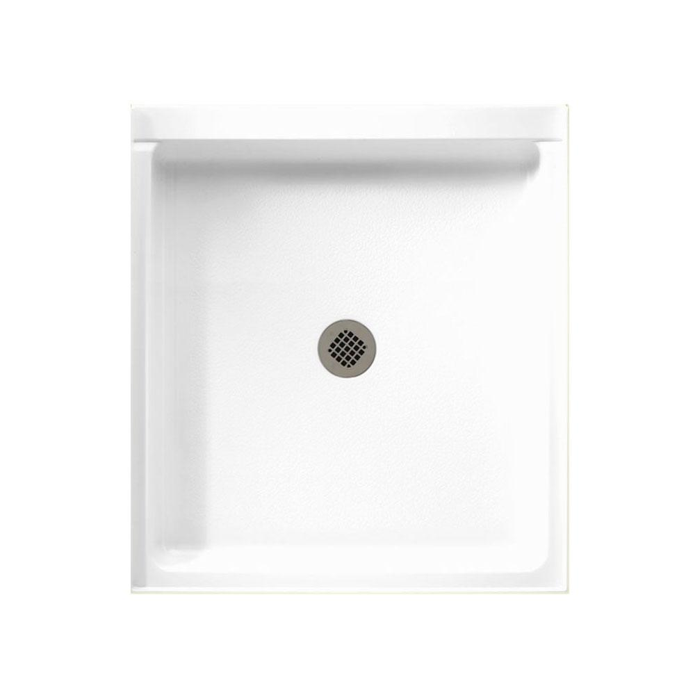 Swan 42 in. x 36 in. Solid Surface Single Threshold Shower Floor in White