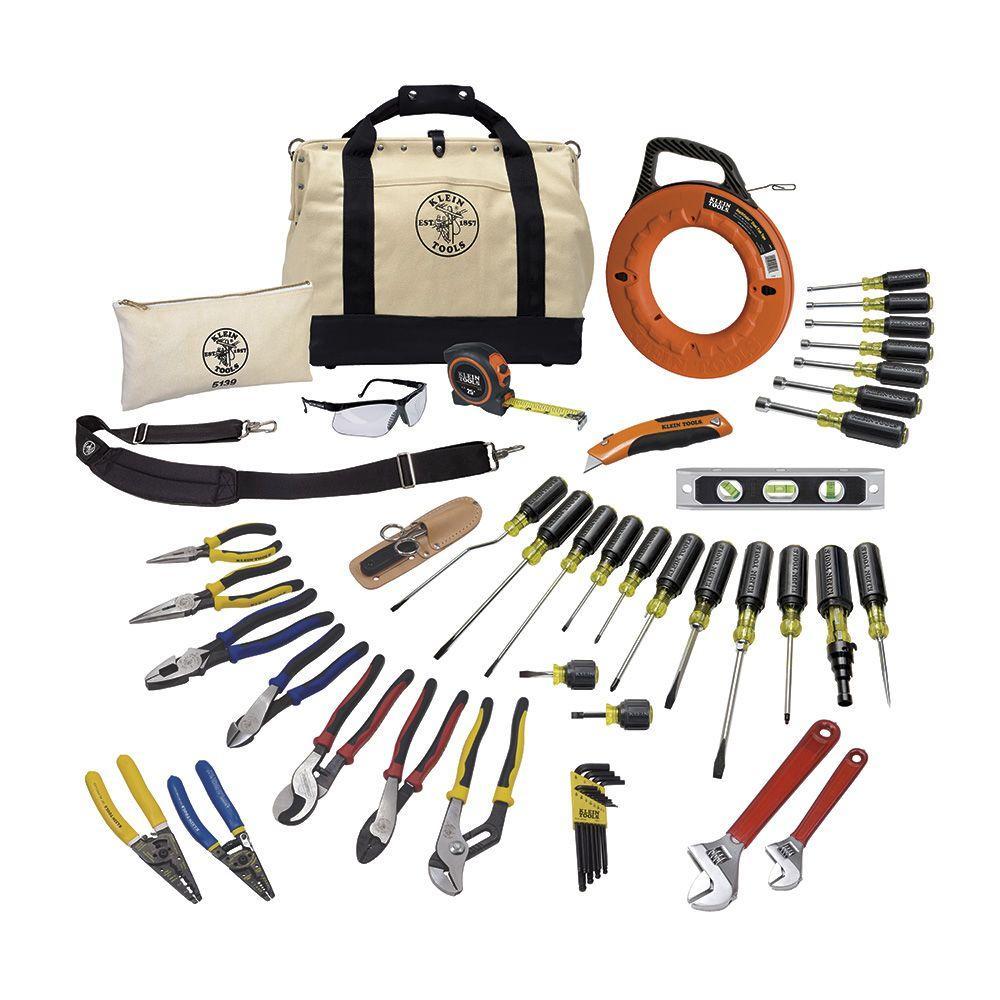 Klein Tools 41-Piece Journeyman Tool Set by Klein Tools