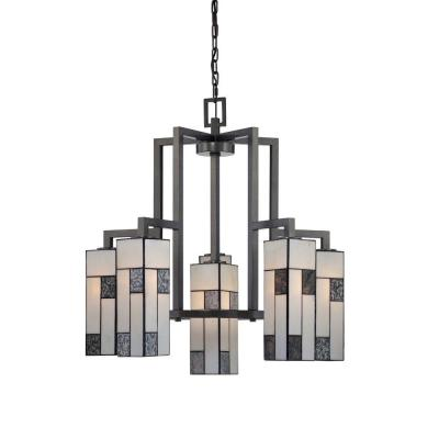 Bradley 6-Light Charcoal Interior Incandescent Chandelier