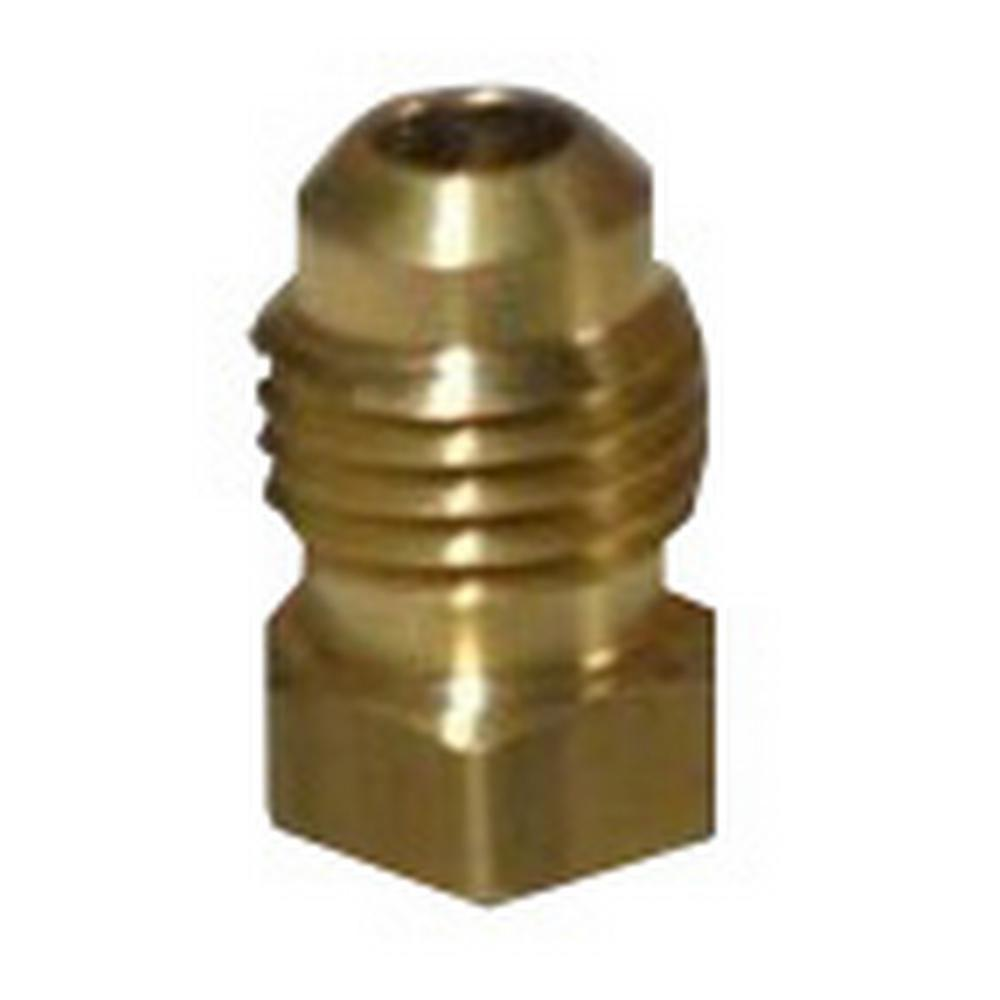 3//8 FLARE CAP ALL BRASS