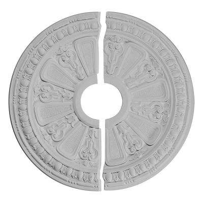 17-5/8 in. O.D. x 3-5/8 in. I.D. x 7/8 in. P Raymond Ceiling Medallion (2-Piece)