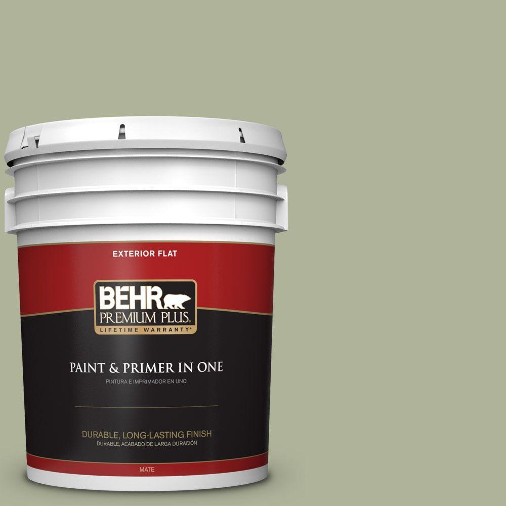 BEHR Premium Plus Home Decorators Collection 5-gal. #HDC-CT-28 Cottage Hill Flat Exterior Paint