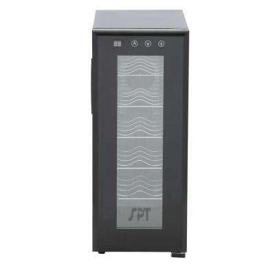 12-Bottle Thermoelectric Wine Cooler with Heating