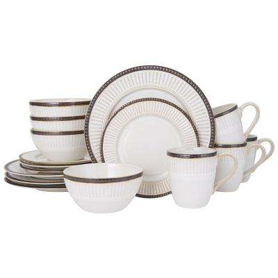 16-Piece Promenade Column Dinnerware Set