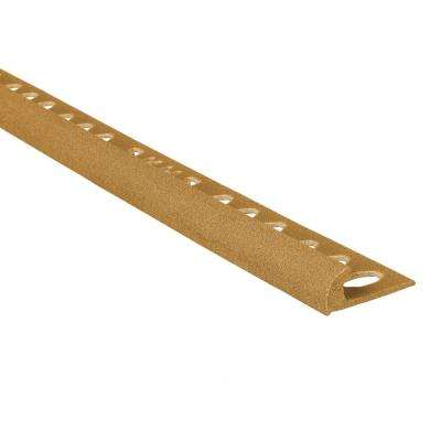 Novocanto Maxi Honey 5/16 in. x 98-1/2 in. Composite Tile Edging Trim