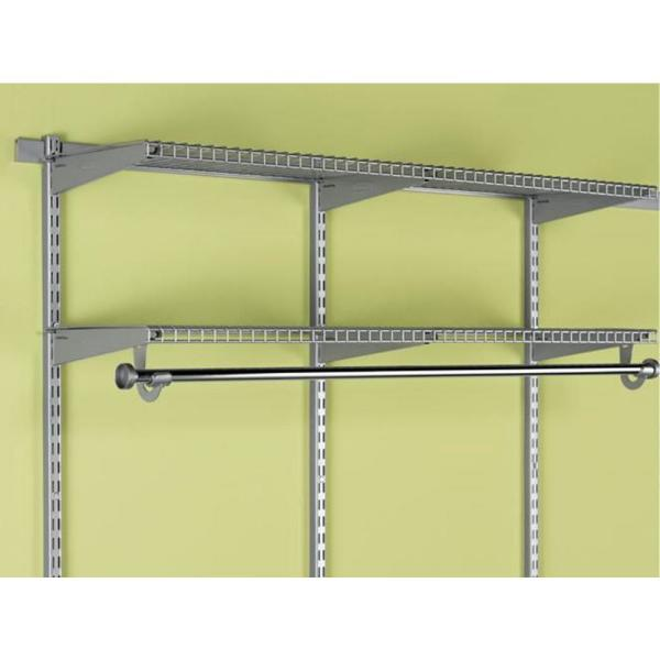 Rubbermaid Fastrack Closet Add-On Hang Rod Hardware Pack