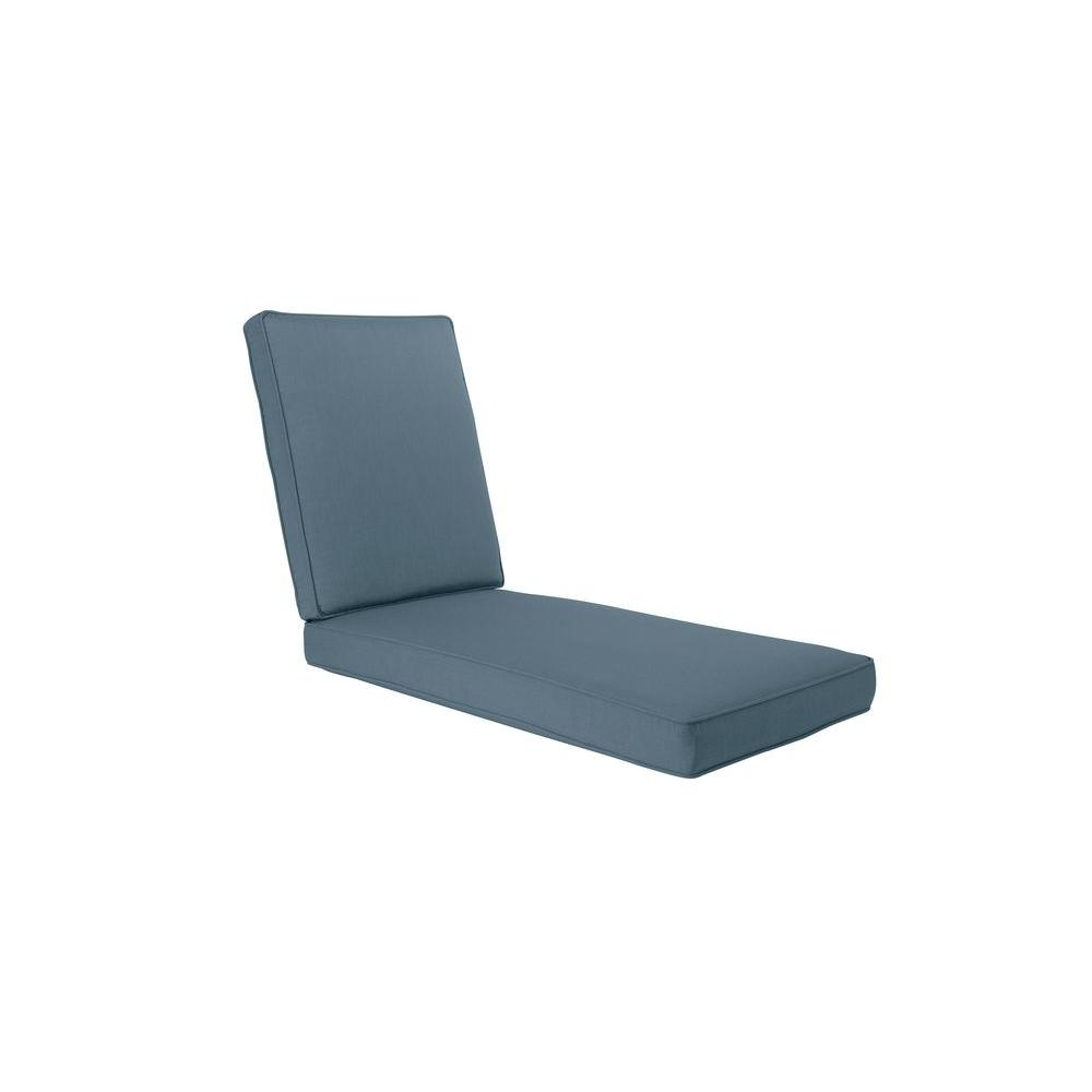 Brown jordan greystone denim replacement outdoor chaise for Brown jordan chaise