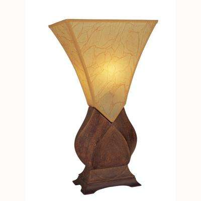 23.5 in. Brown Table Lamp