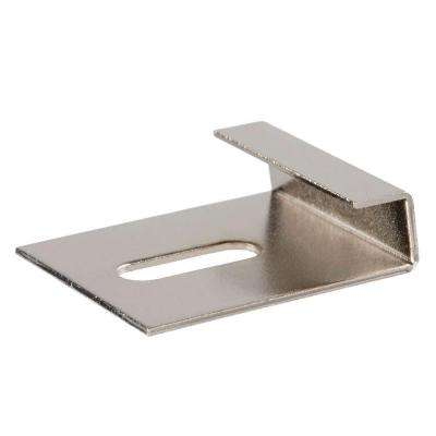 1/4 in. Zinc-Plated Wide Mirror Clip