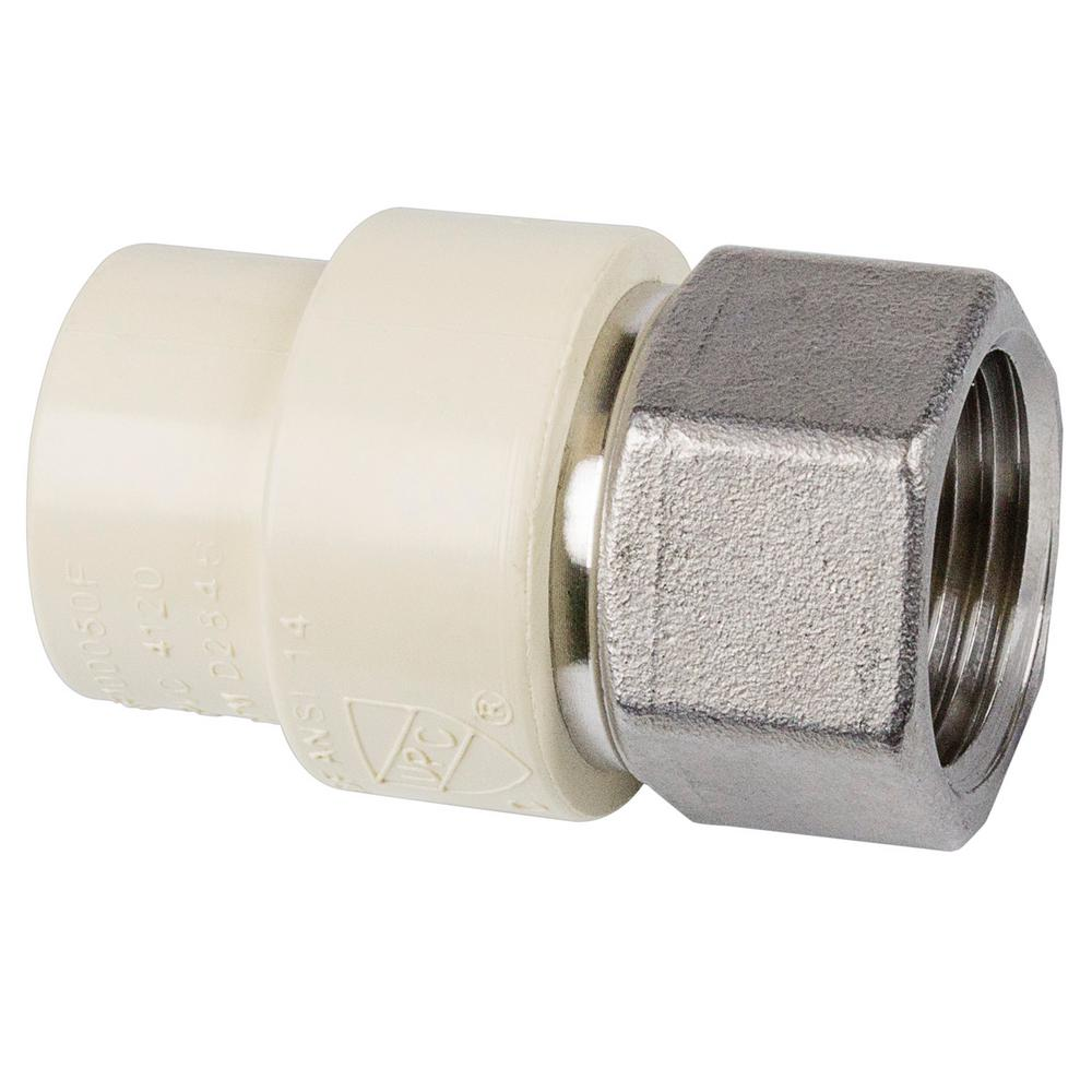 Genova products in cpvc fip stainless steel adapter