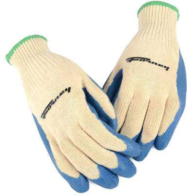 Latex Coated String Knit Gloves (Size XL)