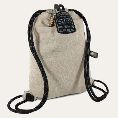 Flak Sack Sport 9 in. Khaki Backpack with Theft Proof Features