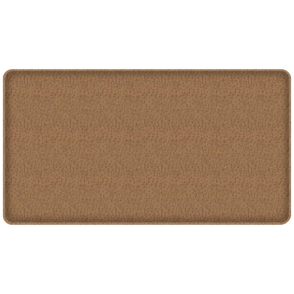 GelPro Classic Quill Toast 20 In. X 36 In. Comfort Kitchen Mat