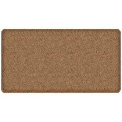 Classic Quill Toast 20 in. x 36 in. Comfort Kitchen Mat