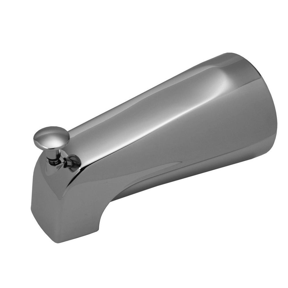 5-1//8-Inch Chrome BrassCraft Diverter Tub Spout for Delta Faucets