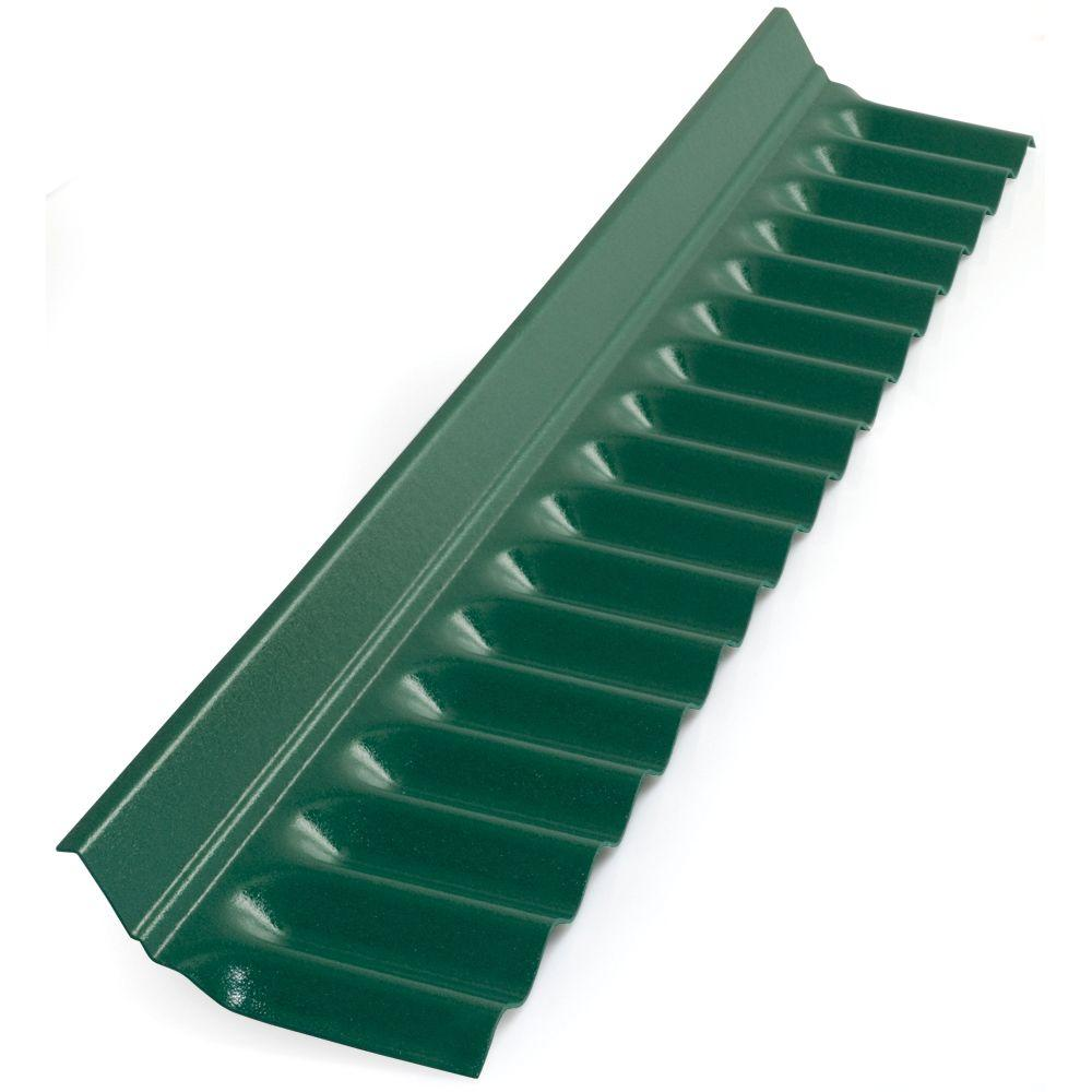 Suntop 4 Ft Rain Forest Green Plastic Roof Panel Wall