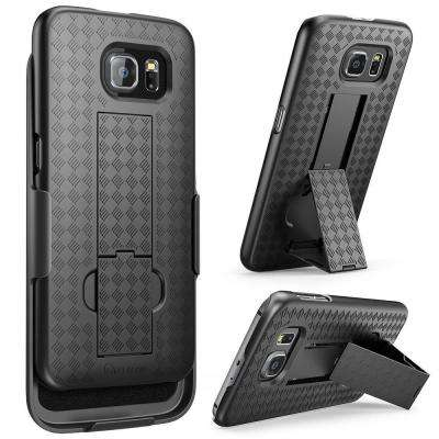 Transformer Slim Hard Shell Holster Case for Samsung Galaxy S6, Black