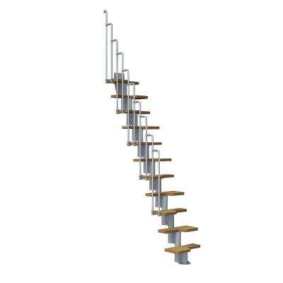 Nice2 22 in. Grey Modular Staircase Kit
