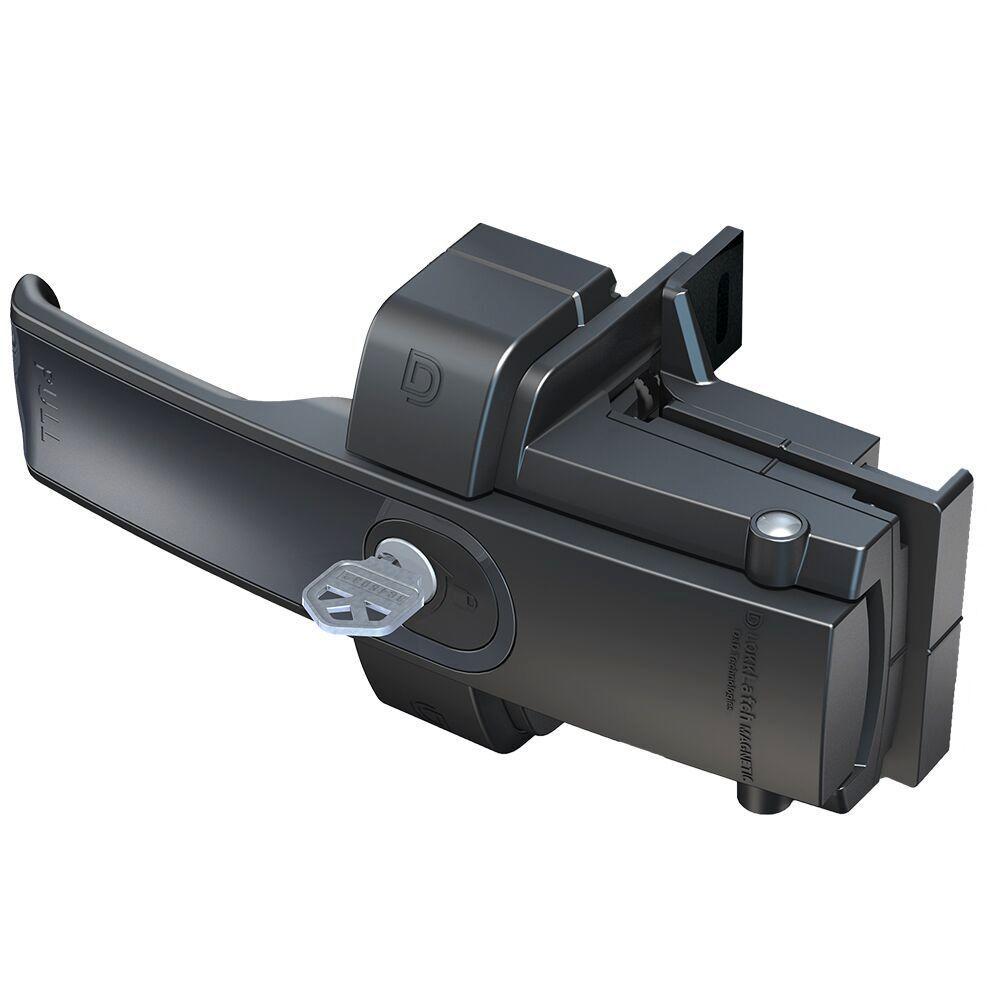 Lokk Latch D&D Black Key-Lockable Gate Latch-50560 - The