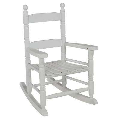 White Children's Patio Rocker