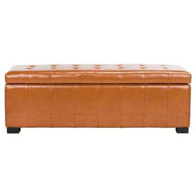 Angelina Saddle Storage Bench
