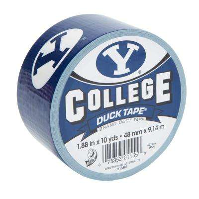 College 1-7/8 in. x 30 ft. BYU Duct Tape (6-Pack)