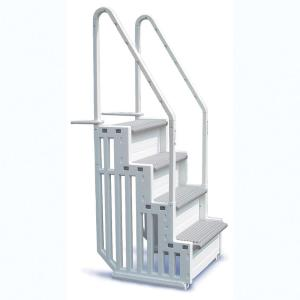 Confer Plastics Step-1 Above Ground Swimming Pool In-Pool Steps ...