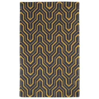 Revolution Yellow 5 ft. x 7 ft. 9 in. Area Rug