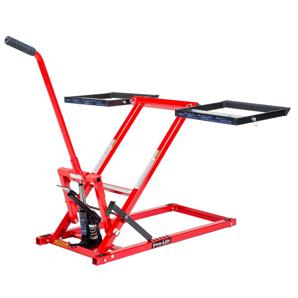 Lawn Mower Jack Lift with 350 lbs. Capacity