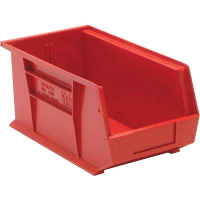 Ultra Series Stack and Hang 7.2 Gal. Storage Bin in Red (12-Pack)