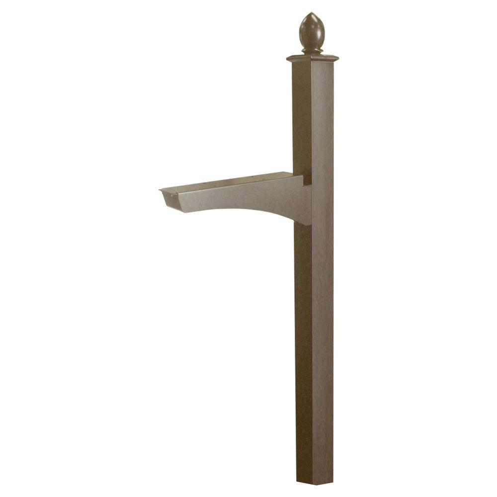 Architectural Mailboxes Decorative In-Ground Post in Bronze