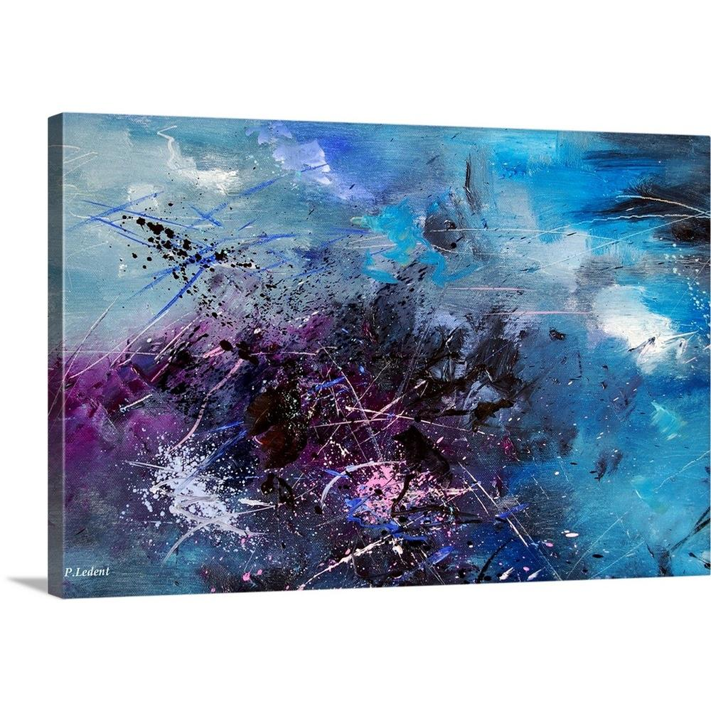Abstract 0808 Nbv By Pol Ledent Canvas Wall Art