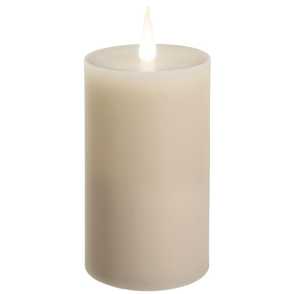 battery operated candles red